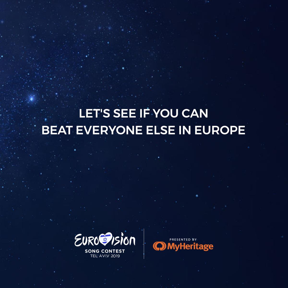 מודעות הקידום שהכנו ופורסמו ברשתות החבריות הרשמיות של האירוויזיון