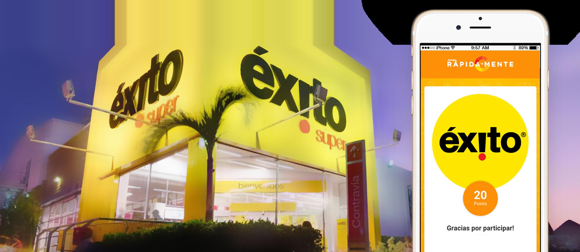 רשת Grupo Éxito, חברת הריטייל הגדולה ביותר בקולומביה המפעילה רשת חנויות בתחום המזון