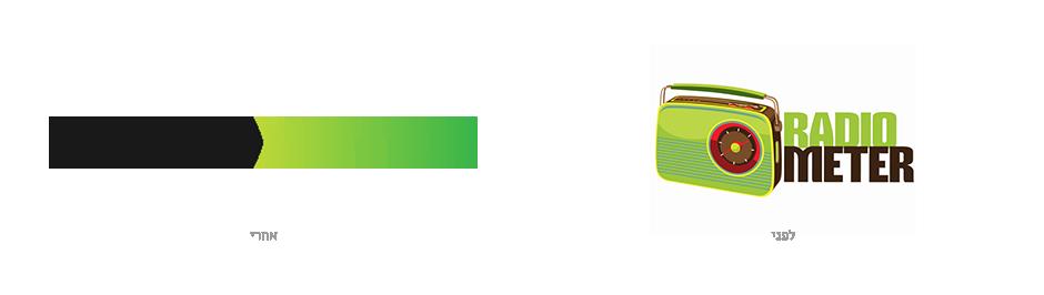 הלוגו החדש שיצרנו בתהליך המיתוג של רדיומטר