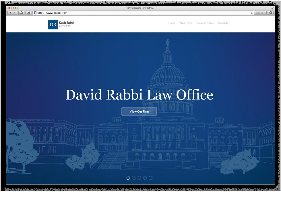 בניית אתר אינטרנט למשרד עורכי דין