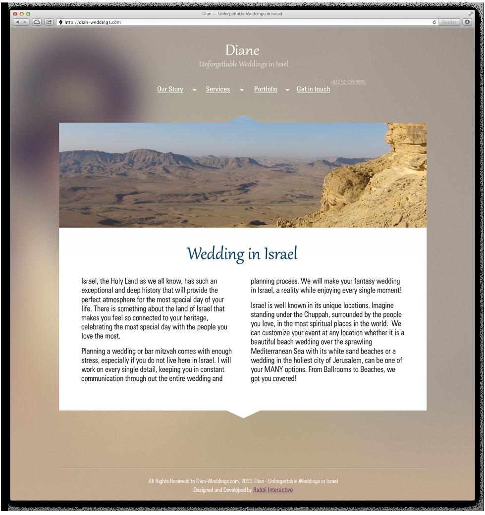 אתר אינטרנט ייעודי שהוקדם לקהל גלובלי מרחבי העולם