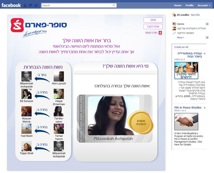 הפעילות זכתה להצלחה רבה ברשת ולהעלאה מסיבית של כ-5000 חברות נוספות בעמוד הפייסבוק של סופר פארם