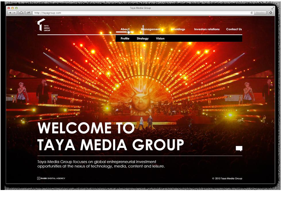 שימוש בתוכן ובערכי החברה כחלק מהותי מעיצוב האתר